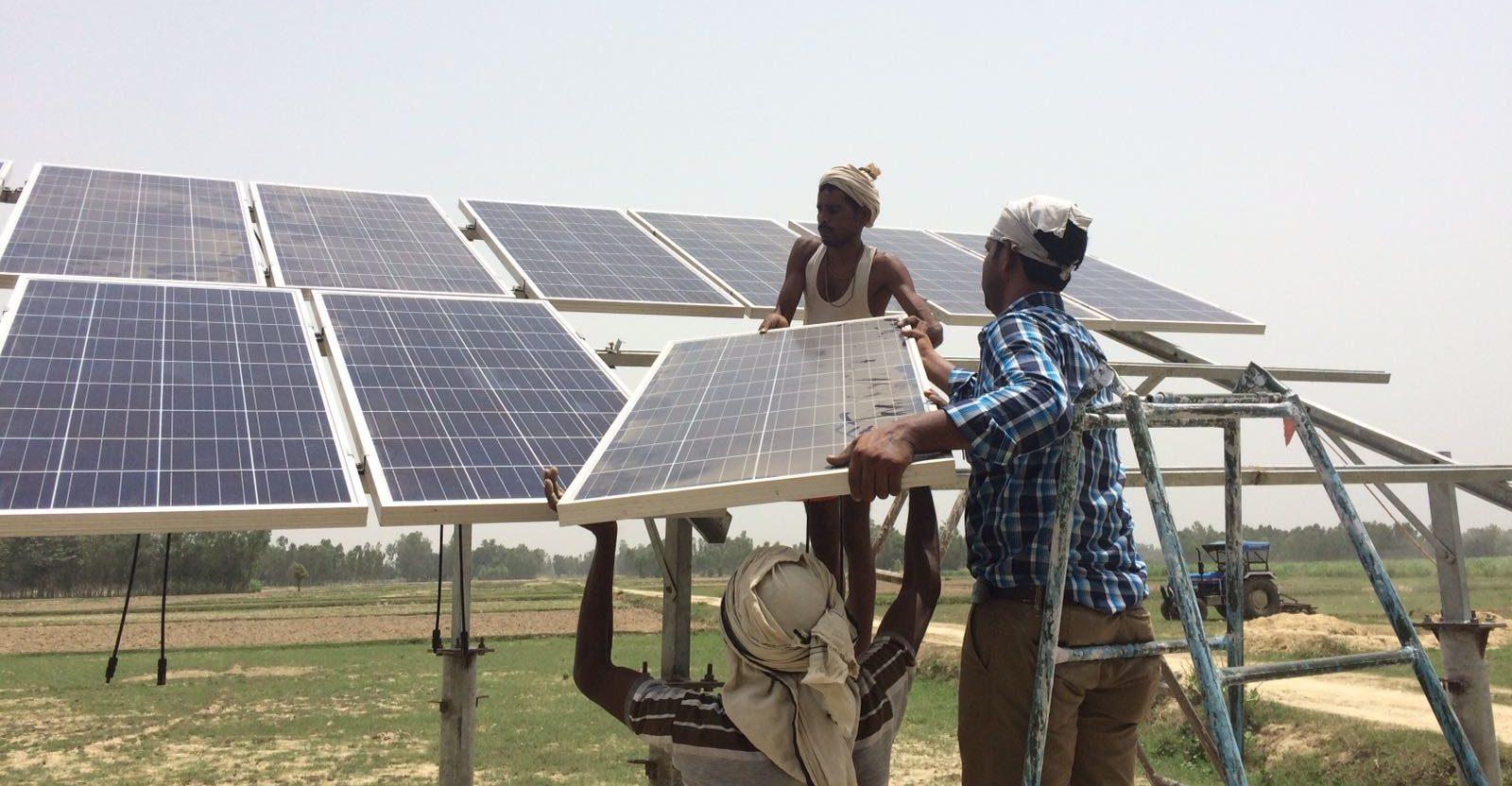 Mini-Grid Installation Oojra Development Solutions Limited